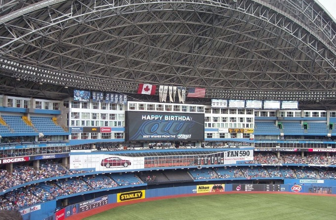 Rogers Centre, Toronto - Romantic Getaway in Toronto Tips