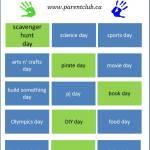 15 Activity and School Break Theme Day Ideas for Kids,-camp-theme-ideas, March break ideas and Spring Break activities for kids