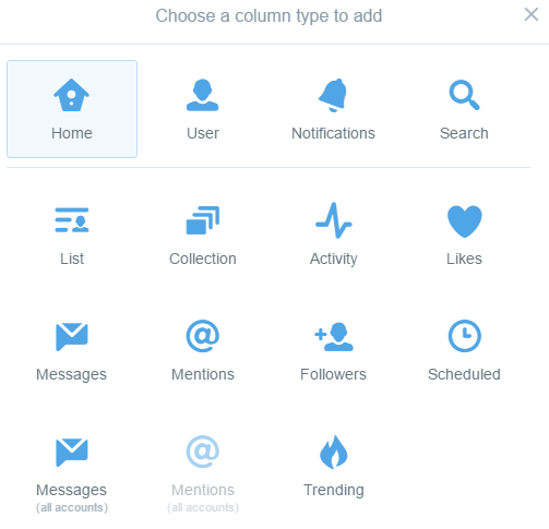 How to set up Tweetdeck column for Twitter Parties and Twitter Chats