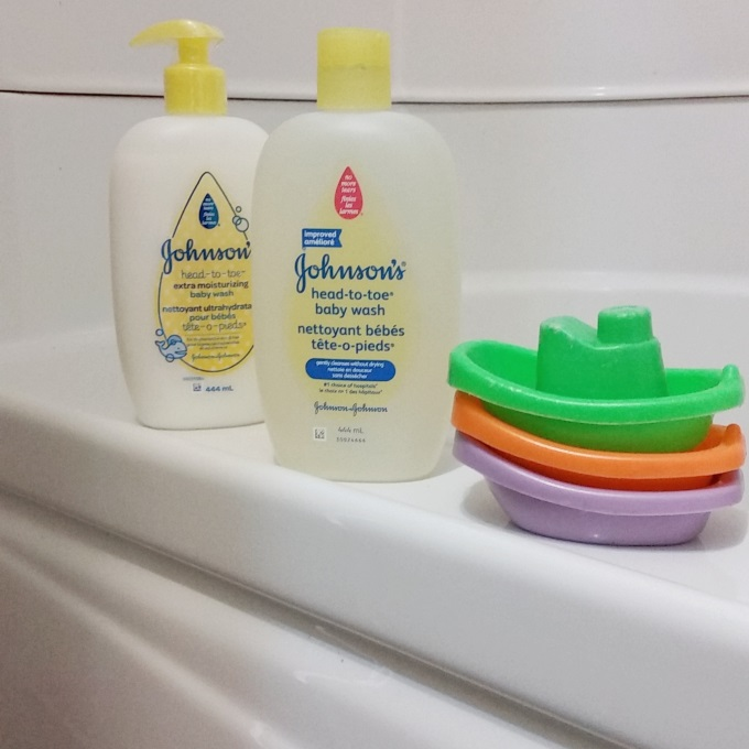 Johnson's Head To Toe Makes Bath Time Fun
