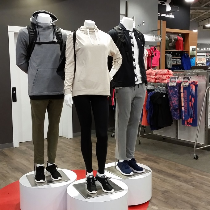 back-to-school shopping at Sport Chek