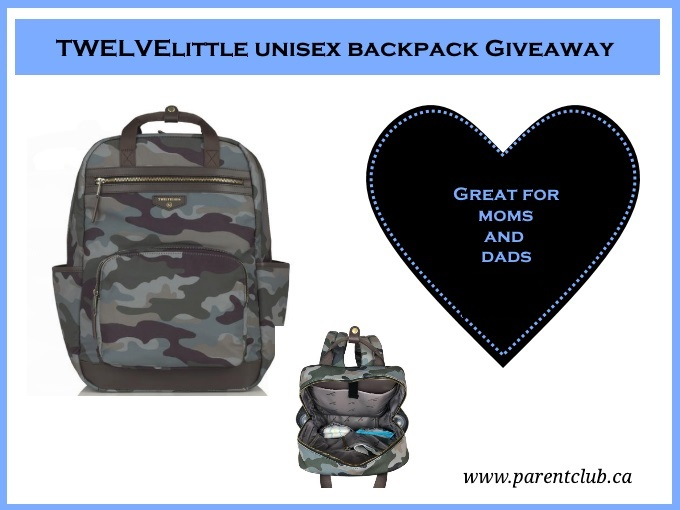 TWELVElittle unisex backpack GIVEAWAY