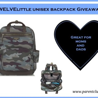 Twelvelittle unisex backpack giveaway diaper bag via www.parentclub.ca diaperbag