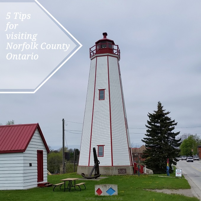 5 Tips for visiting Norfolk County, Ontario family travel via www.parentclub.ca