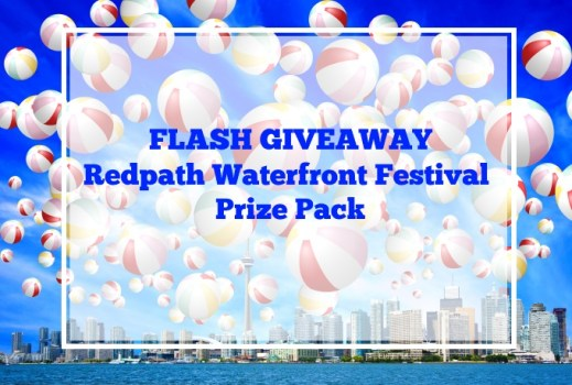 FLASH GIVEAWAY - Redpath Waterfront Festival Prize Pack via www.parentclub.ca