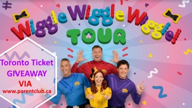 Wiggles Toronto Tickets Giveaway via www.parentclub.ca