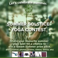 Gaiam Summer Yoga Prize Pack Giveaway