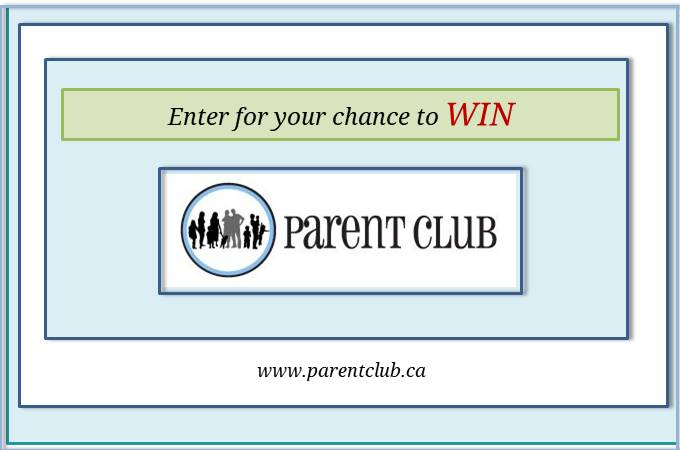 Parent Club Giveaway via www.parentclub.ca