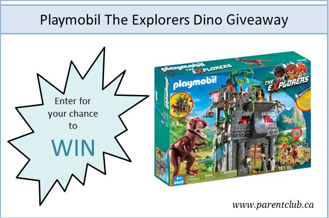 Playmobil The Explorers Dino Giveaway