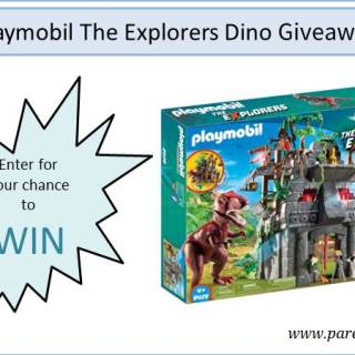 Playmobil The Explorers Dino Giveaway via www.parentclub.ca