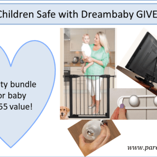 Keep Children Safe with Dreambaby GIVEAWAY via www.parentclub.ca