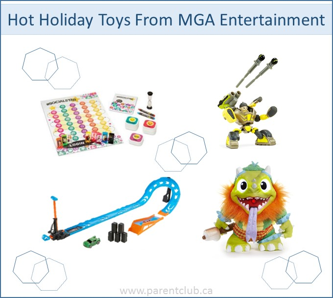 Hot Holiday Toys from MGA Entertainment via www.parentclub.ca