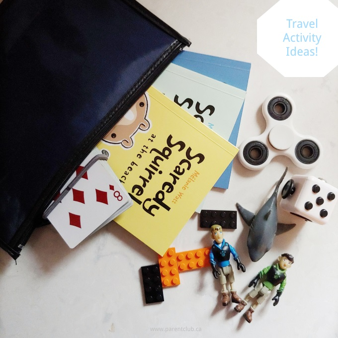 Travel Activity Ideas and Boredom Busters via www.parentclub.ca