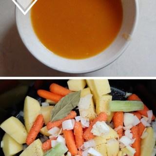 Slow Cooker Vegtable Soup via www.parentclub.ca easy recipe