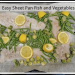 Easy Sheet Pan Fish and Vegetables