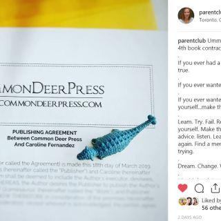 Caroline Fernandez book, author, common deer press