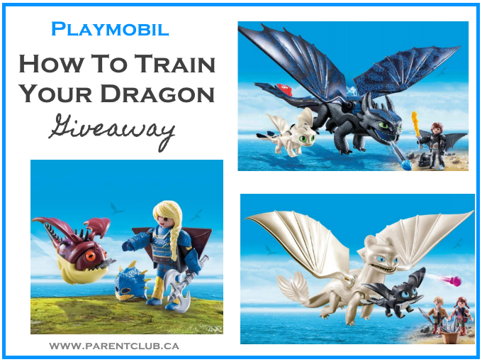 Playmobil How To Train Your Dragon Giveaway via www.parentclub.ca