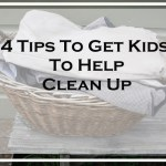 4 tips to get kids to help clean up via www.parentclub.ca