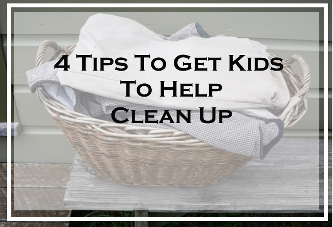 4 tips to get kids to help clean up via www.parentclub.ca
