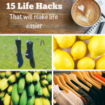 15 life hacks to make life easier via www.parentclub.ca