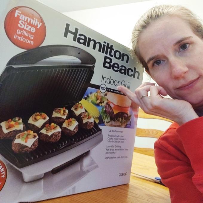 Hamilton Beach Indoor Grill giveaway via www.parentclub.ca
