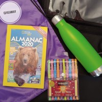 National Geographic Kids Almanac 2020 + Giveaway!