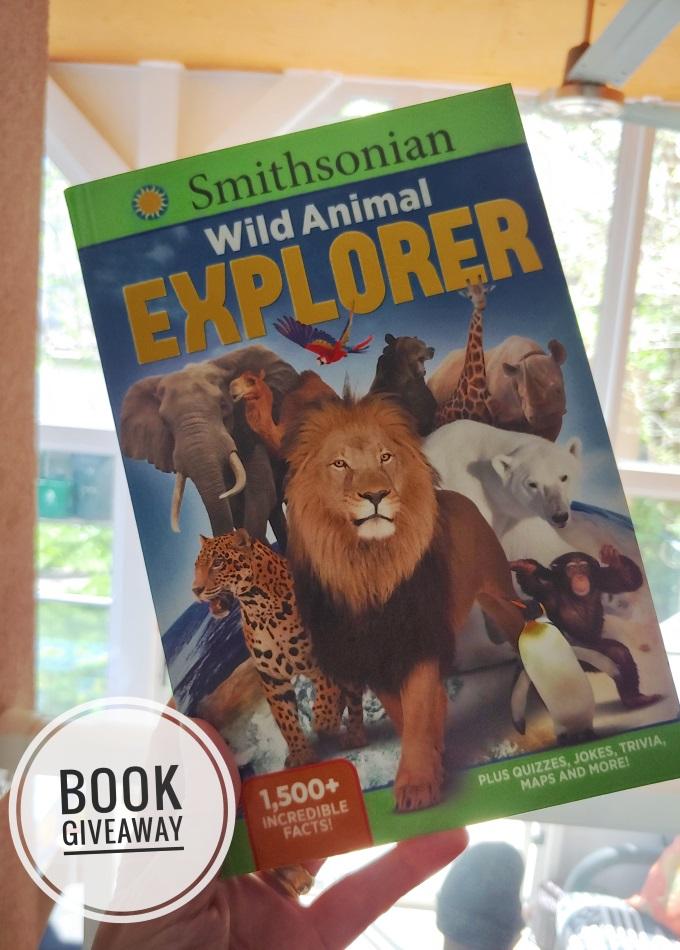 Smithsonian Wild Animal Explorer book giveaway via www.parentclub.ca