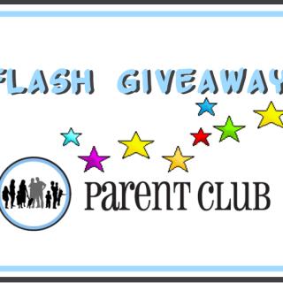 flash giveaway via www.parentclub.ca