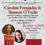 Caroline Fernandez book launch Stop Reading This Book