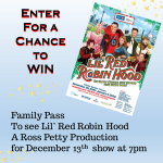 Lil' Red Riding Hood A Ross Petty Production giveaway via www.parentclub.ca
