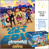 playmobil THE MOVIE passes+ playmobil toy giveaway
