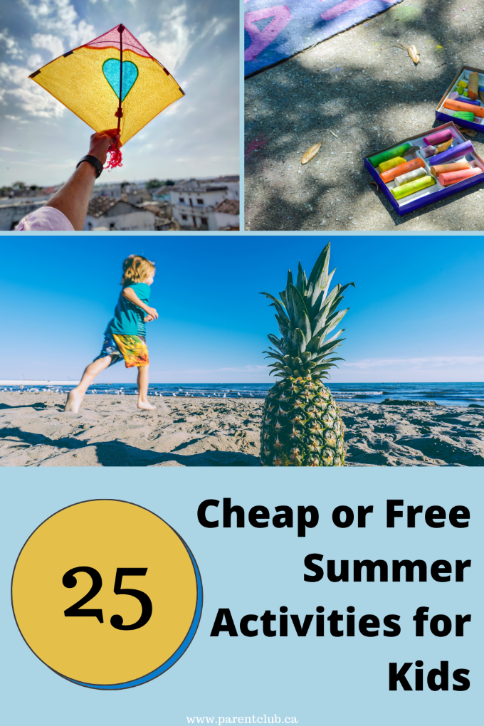 Cheap or Free Summer Activities for Kids, boredom busters for kids, kids activities, free activities for kids