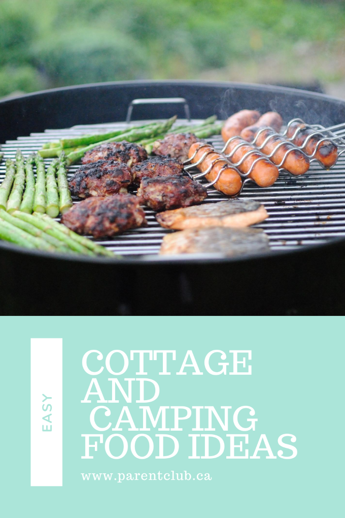 Easy Cottage and Camping Food Ideas