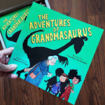 The adventures of grandmasaurus by Caroline Fernandez