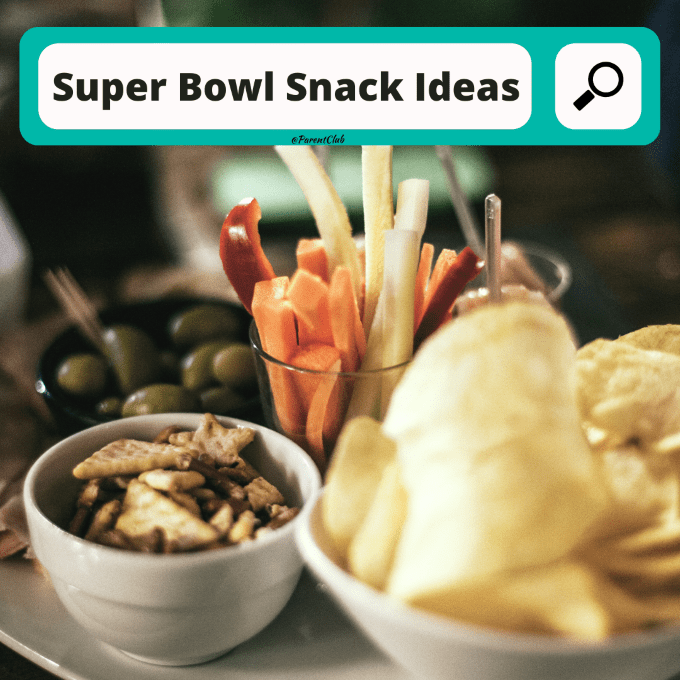 Super Bowl Snack Ideas, Super Bowl Party foods, snack ideas for game day via www.parentclub.ca