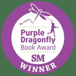 Purple Dragonfly Winner Seal Caroline Fernandez