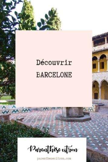 découvrir barcelone