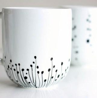 diy cadeau noel fait main porcelaine crayon (2)