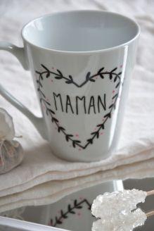 diy porcelaine mug assiette feutre (3)