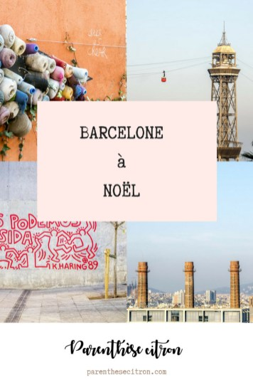 barcelone à noël