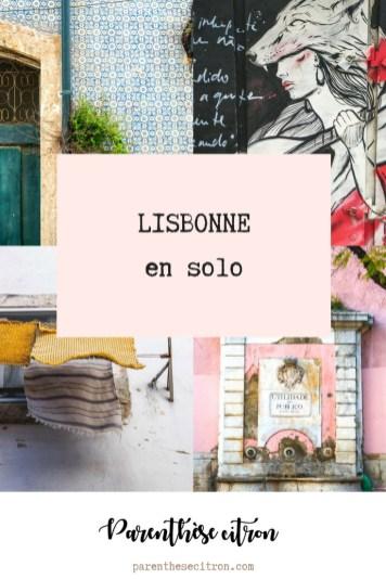 Lisbonne en solo
