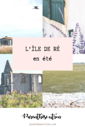 L'Île de Ré en été