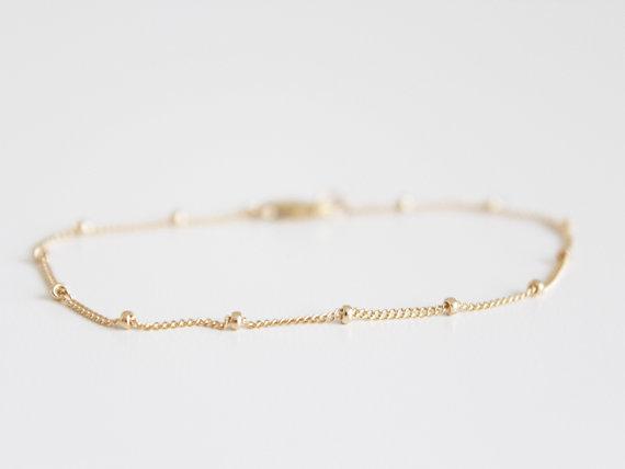 bracelet plaqué or petit créateur