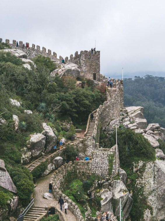 sintra portugal chateau des maures