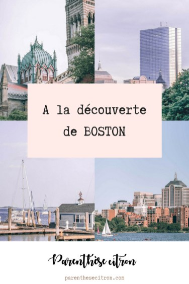 A la découverte de Boston