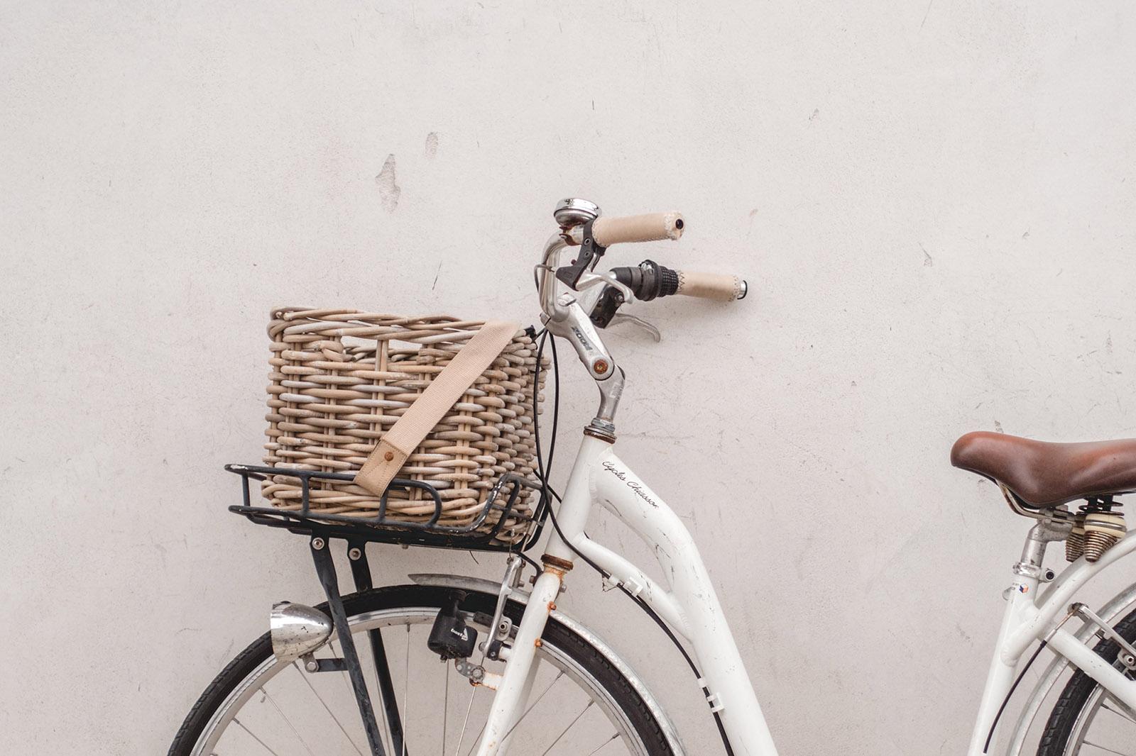 bicyclette vintage art print