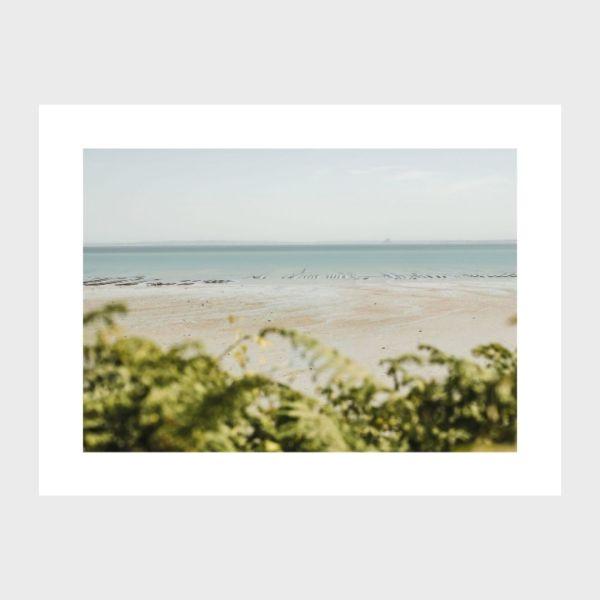 cancale photo print mer