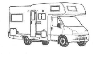 Schéma camping-car capucine