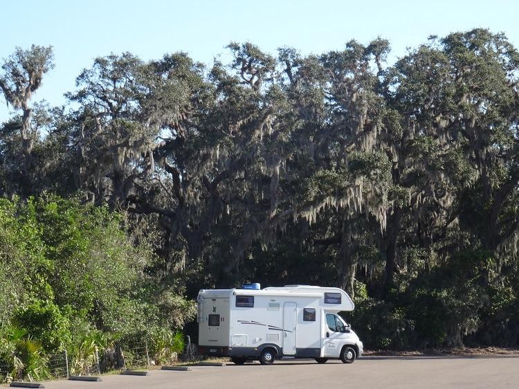 Bivouac au nord de la Floride