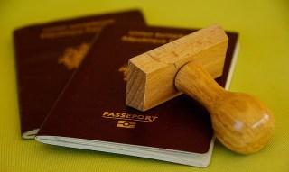 Le tampon sur le passeport